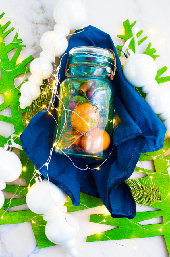Christmas Jar Gift DIY