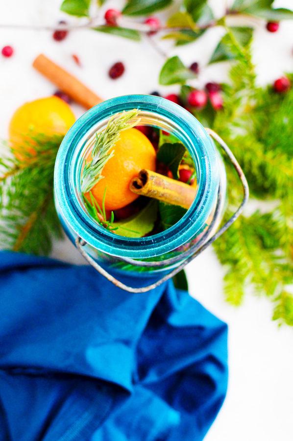 how to make christmas jar gift