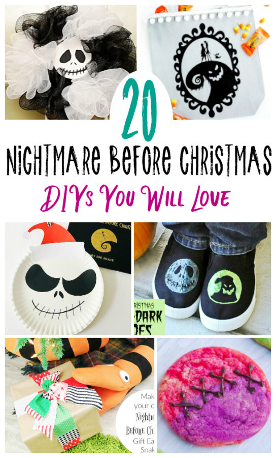 DIY Nightmare Before Christmas Ideas