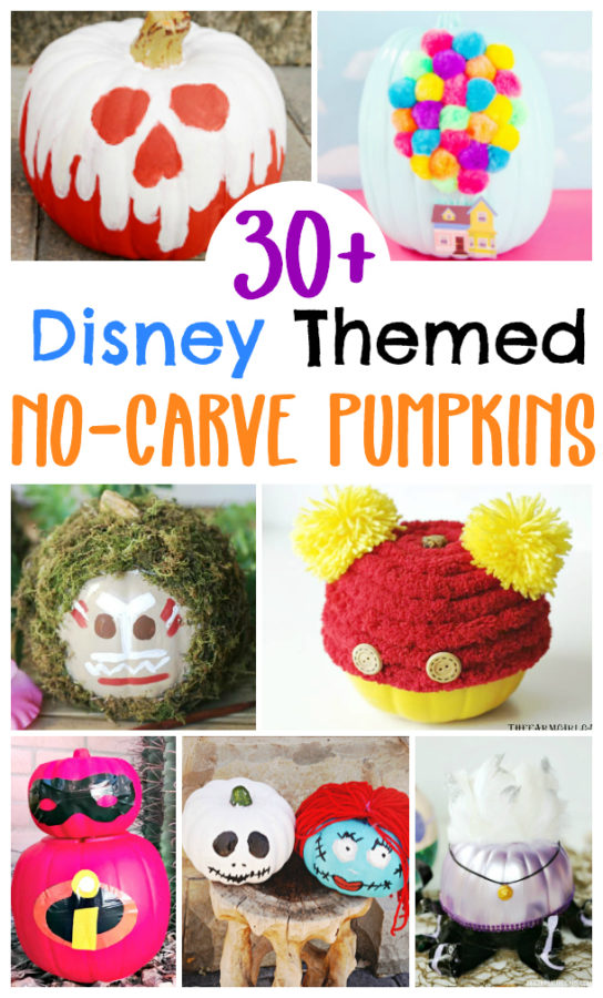 DIY Disney Pumpkins for Halloween
