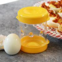 NEGG Hard Boiled Egg Peeler | Made In The USA | Patent #9968211