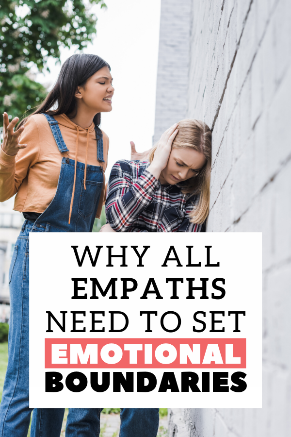 Every person who experiences empathy should have a strict set of boundaries in place to avoid narcissists and joy suckers. This post will give you a good start. #empathy #boundaries