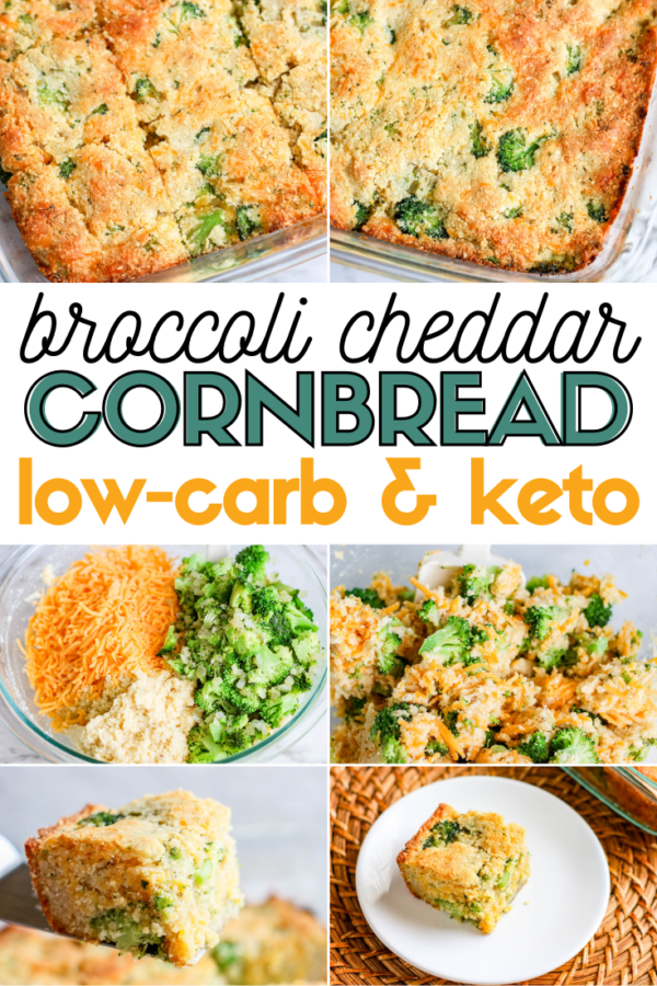 If you're on the Keto diet then you're probably already planning your low-carb Thanksgiving recipes. This low-carb Broccoli Cheddar Cornbread should definitely be added to your list because it's basically perfection.