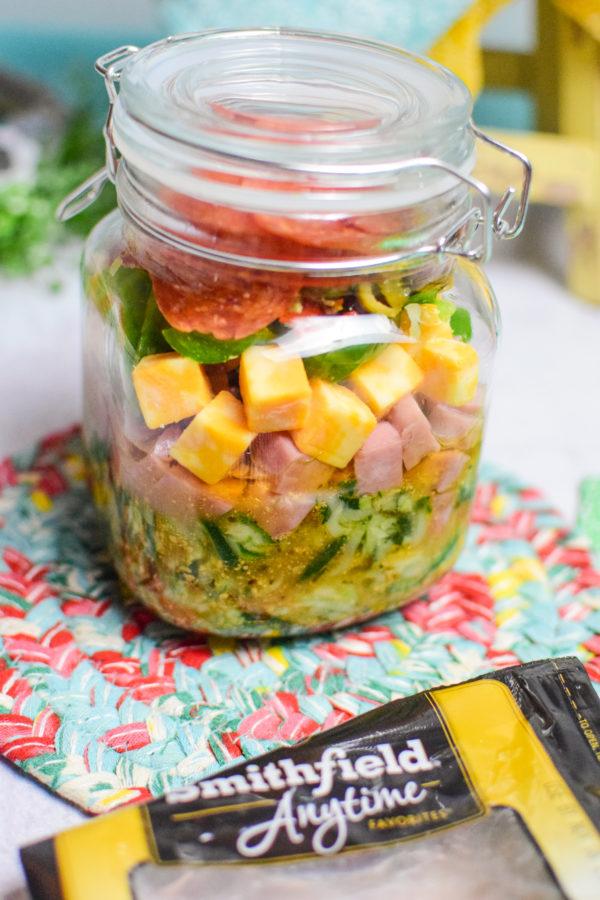 Zoodles Italian Pasta Salad Recipe Steps
