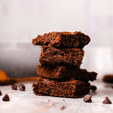 Keto Pumpkin Spice Brownies