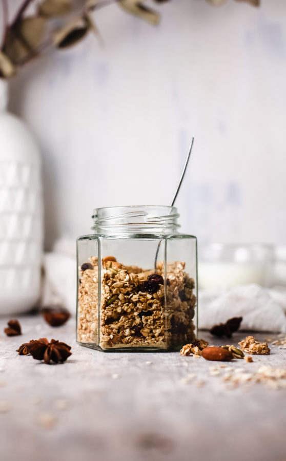 Low-Carb Fall Granola Recipe