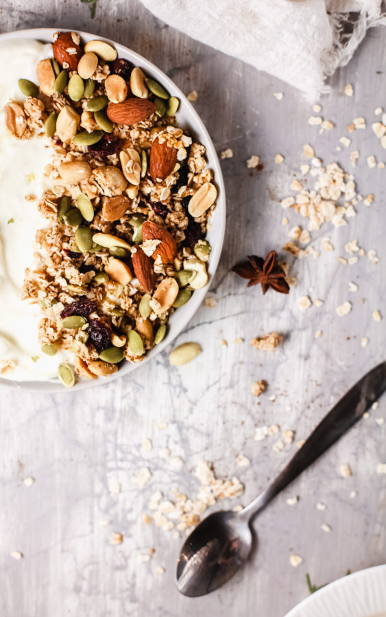 Pumpkin Seeds Granola Recipe