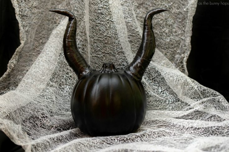 Well, Well... Make A Maleficent Pumpkin For Halloween! - As The Bunny Hops®