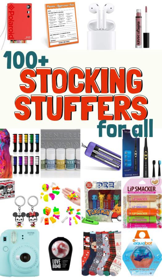 100 Stocking Stuffers Gift List