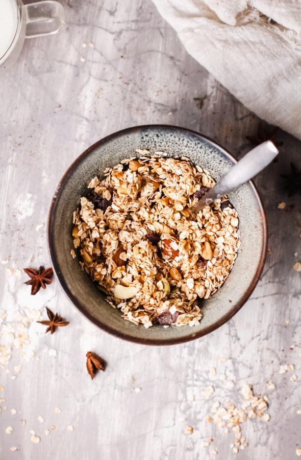 Low-Carb Granola Recipe