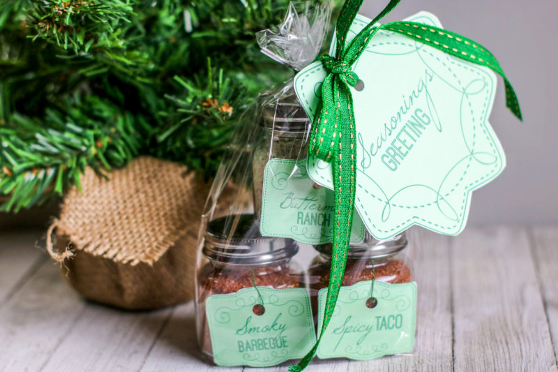 Christmas Gifts in a Jar