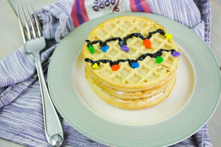 Stranger Things Inspired Waffle