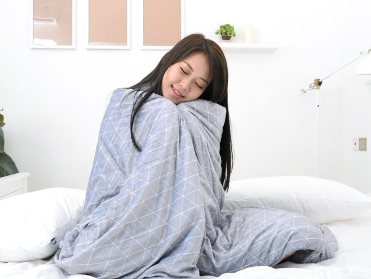 The Cozy Minky Weighted Blanket