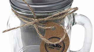 Cold Brew Coffee Maker Mason Jar Mug and Silicone Lid