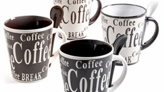 Mr Coffee mug and spoon set