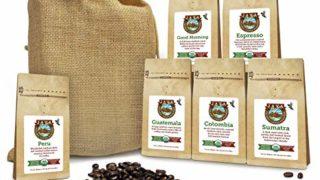 Java Planet - Coffee Beans, Organic Coffee Sampler Pack
