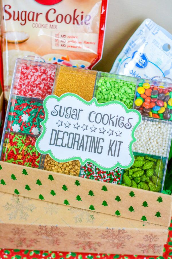 Cookie Decorating Kit Sample 4-6