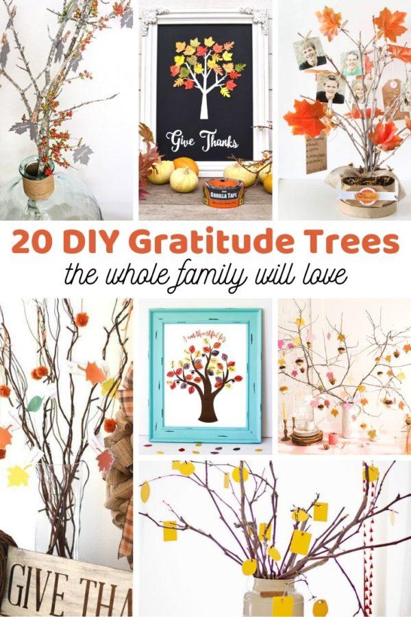 How to make a gratitude tree!