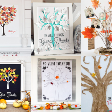 20 DIY Gratitude Trees The Whole Family Will Love