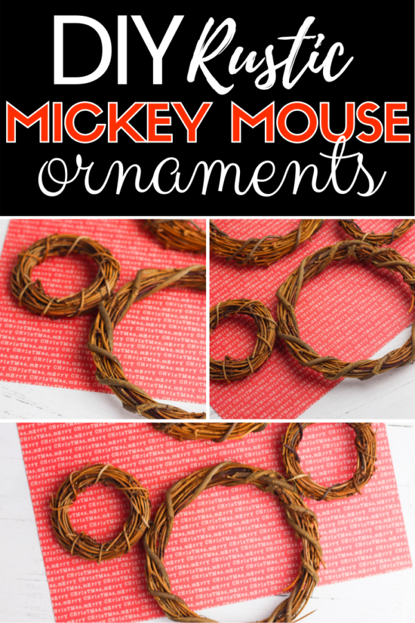 These DIY Mickey Mouse ornaments are so cute and easy to make. With the right supplies, the kids can even help you make them!