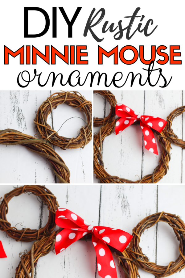 These DIY Minnie Mouse ornaments are so cute and easy to make. With the right supplies, the kids can even help you make them!