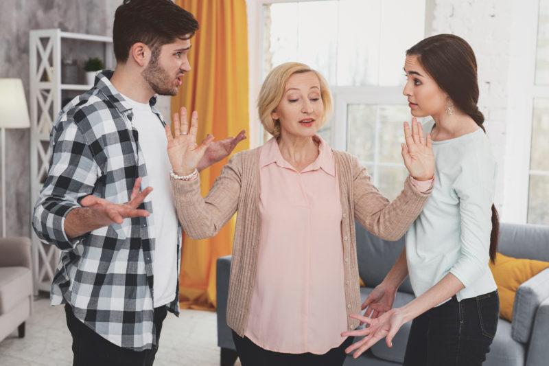 Family Arguing Holidays