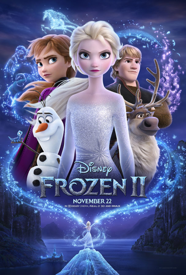 frozen 2 Poster and BOnus Clips