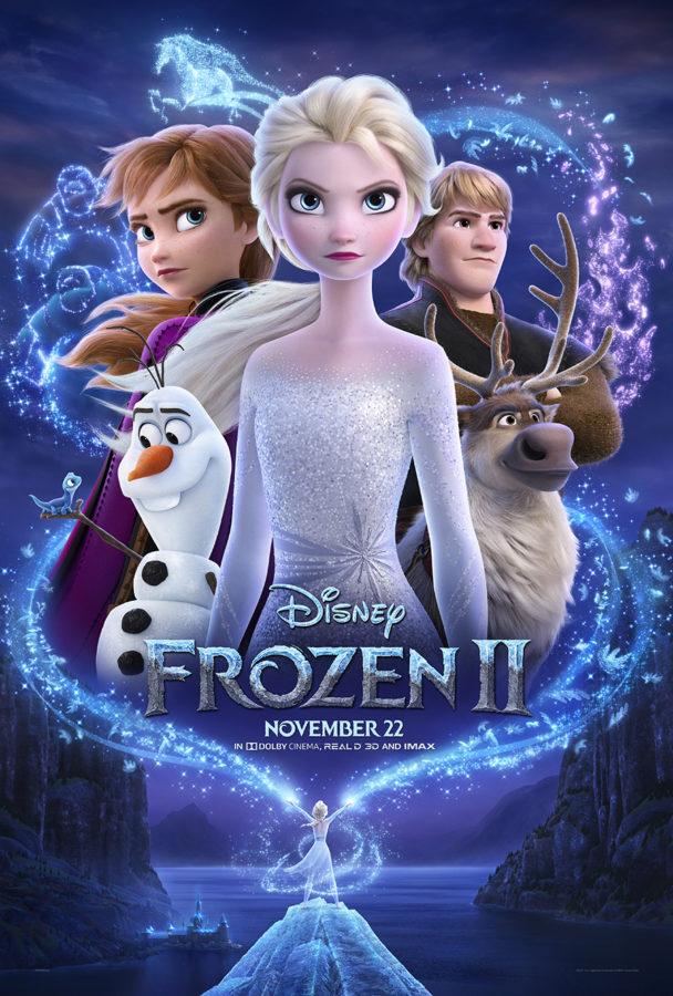 frozen 2 Poster and BOnus Clips