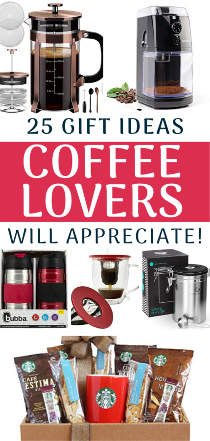 Gift ideas Coffee Lovers will Love