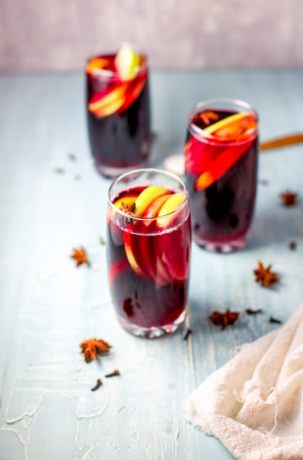Holiday Sangria Low-Carb
