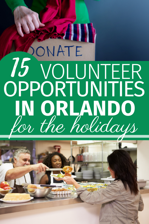 This is a great list of Holiday Volunteer Opportunities in Orlando for anyone who wants to give back this holiday season.