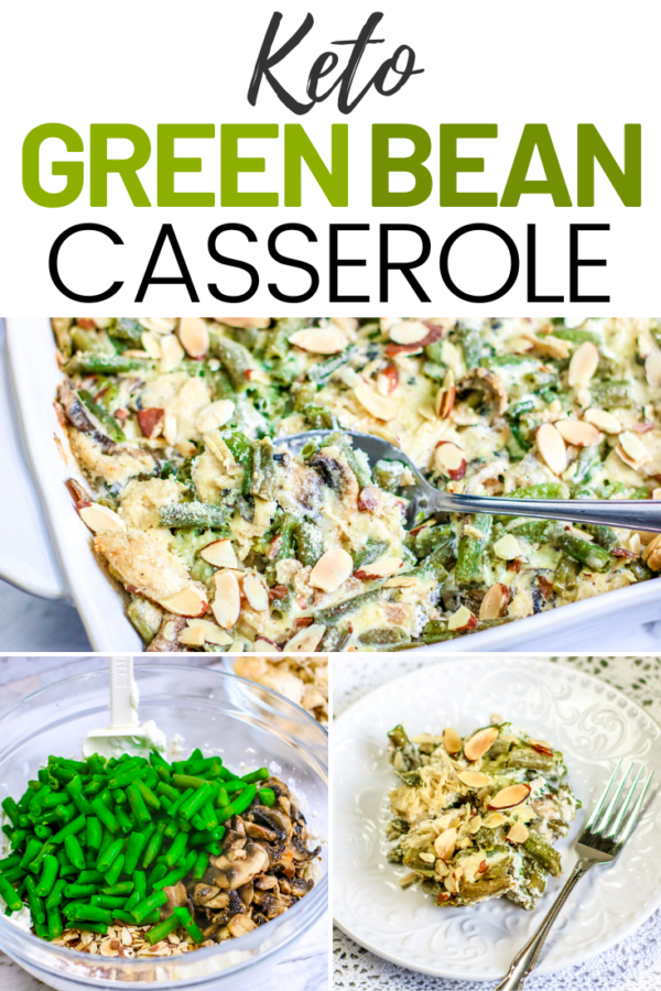 Keto Green Bean Casserole with Chicken