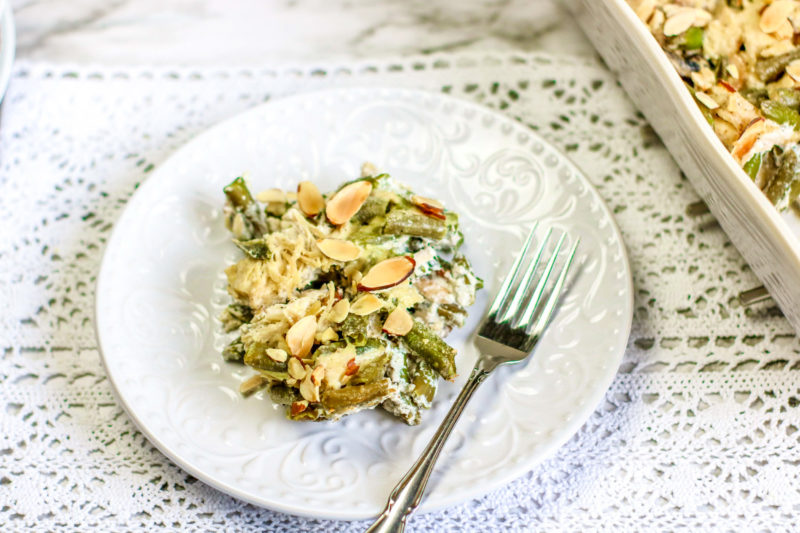 Green Bean Casserole Keto Friendly