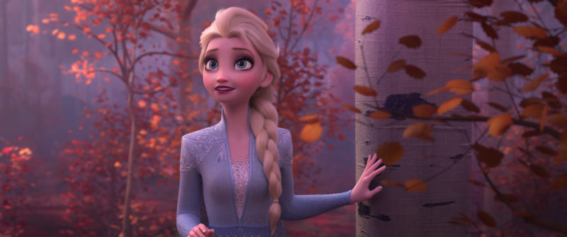 Elsa in the Fall