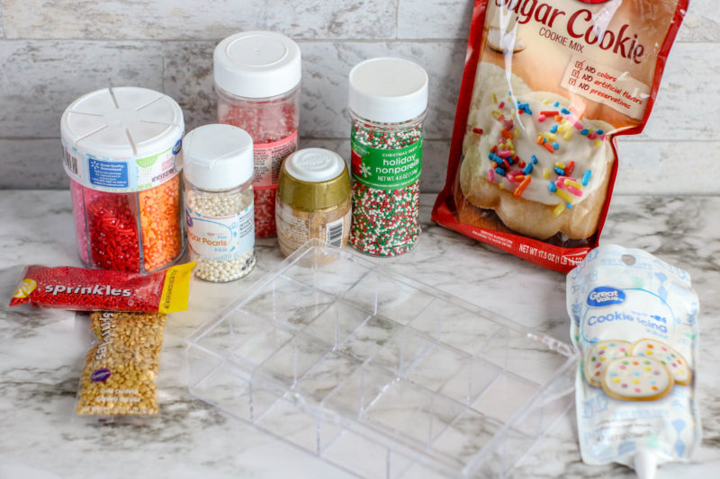 What You need Sugar Cookies Kit