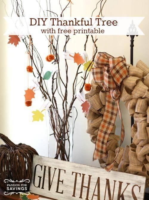 Thanksgiving Crafts for Kids | DIY Thankful Tree