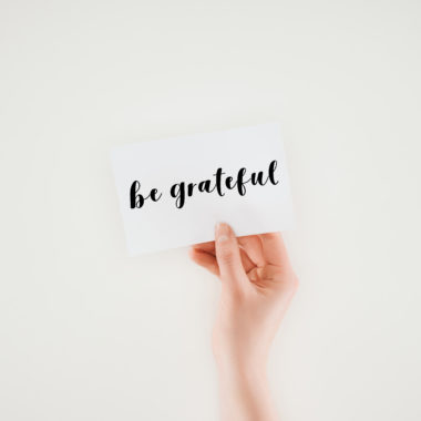 Finding things to be grateful for every day can seem daunting, especially on bad days. This list will help you to be thankful today and every day!