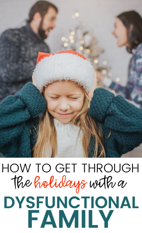 Today I'm going to give you tips for how to get through a dysfunctional family holiday – and actually enjoy the time with your family!