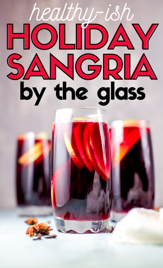 I've been working hard to help everyone maintain a low-carb diet during the holidays. This healthy(ish) Holiday Sangria will allow you to indulge without regrets.