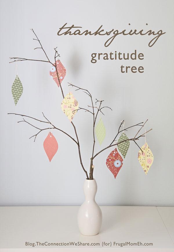 Thanksgiving Celebrations – Make a Gratitude Tree
