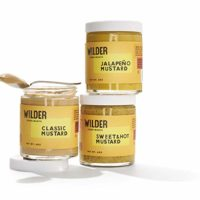 Wilder Condiments Mustard Trio, 6 Ounce Jars (3 Pack for $21.00)