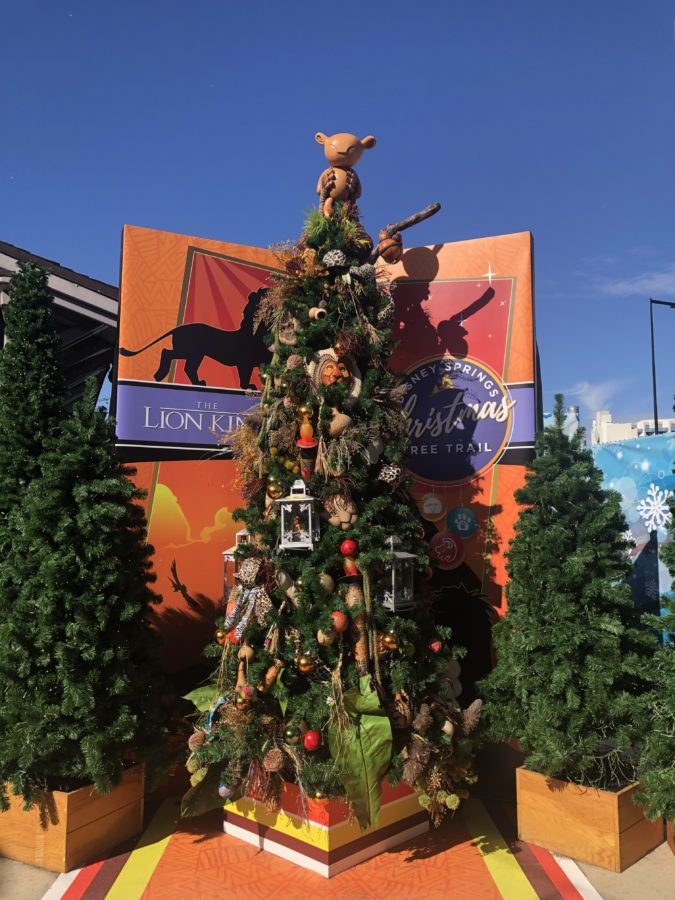 Disney springs Lion KIng Tree