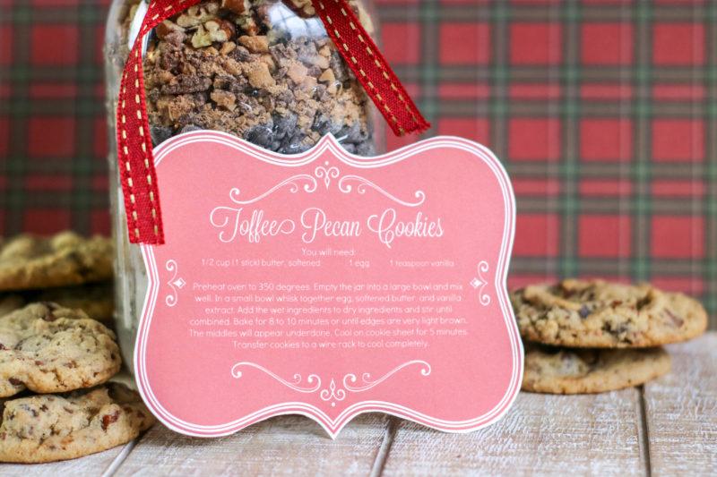 Toffee Pecan Cookies Sample 3-3