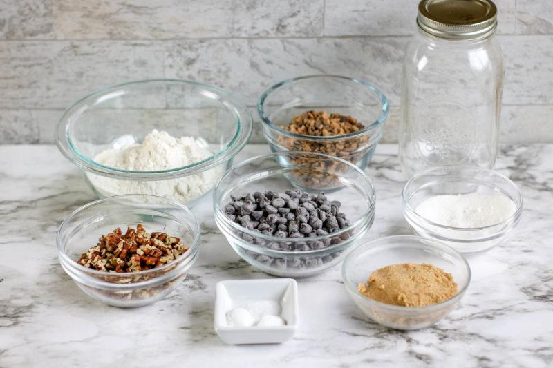 Toffee Pecan Cookies Ingredients