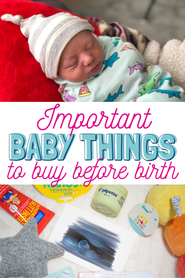 What Do you NEED before baby is born? FULL LIST.