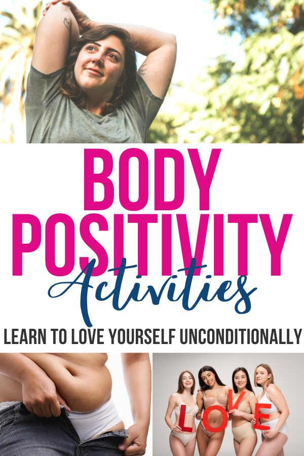 When it comes to loving our bodies, Many of us have some work to do. With these body positivity activities, loving the skin you're in will come naturally.