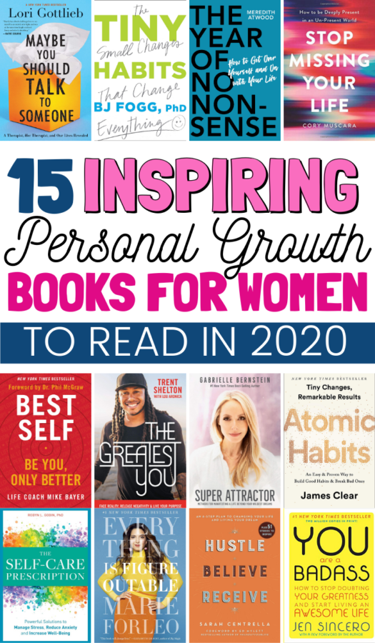 If you're looking for a little help in the self-love and motivation department, I recommend adding these personal growth books for women to your 2020 reading list.