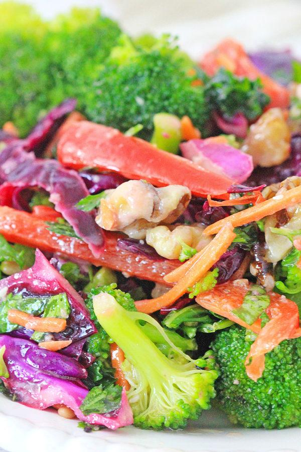 Ingredients for Detox Salad