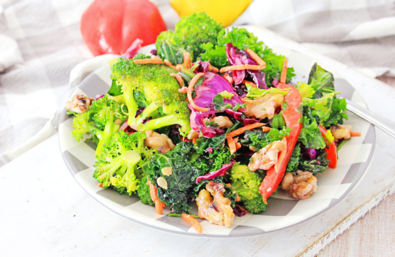 Best Detox Salad with Broccoli