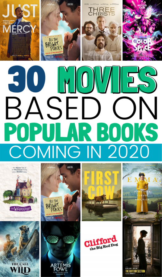 Best Books Becoming Movies in 2020